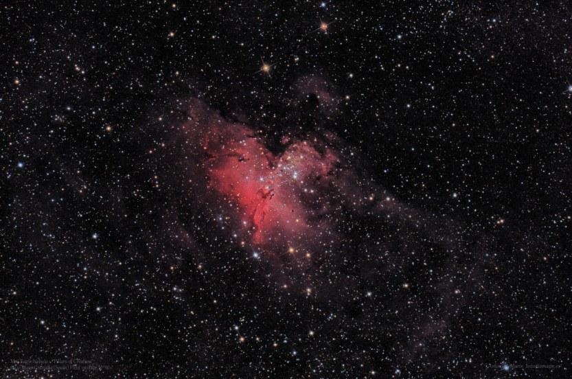 M16 Nebulosa del Aguila-Pilares de la Creacion F