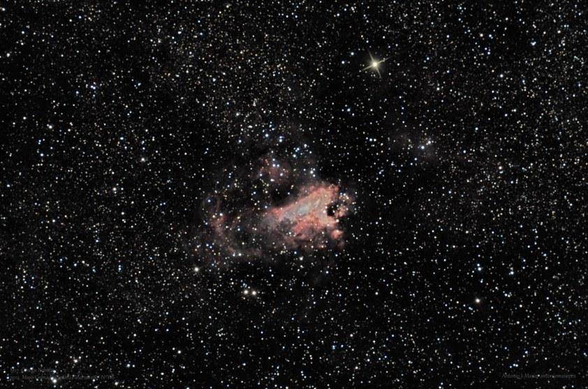M17 NGC6618 Omega Nebula F