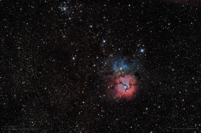 M20 Nebulosa Trifida F