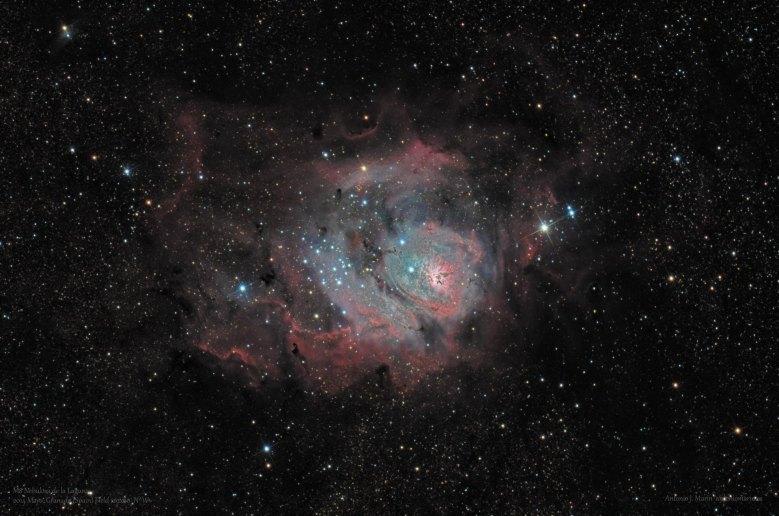 M8 Nebulosa de la Laguna FW