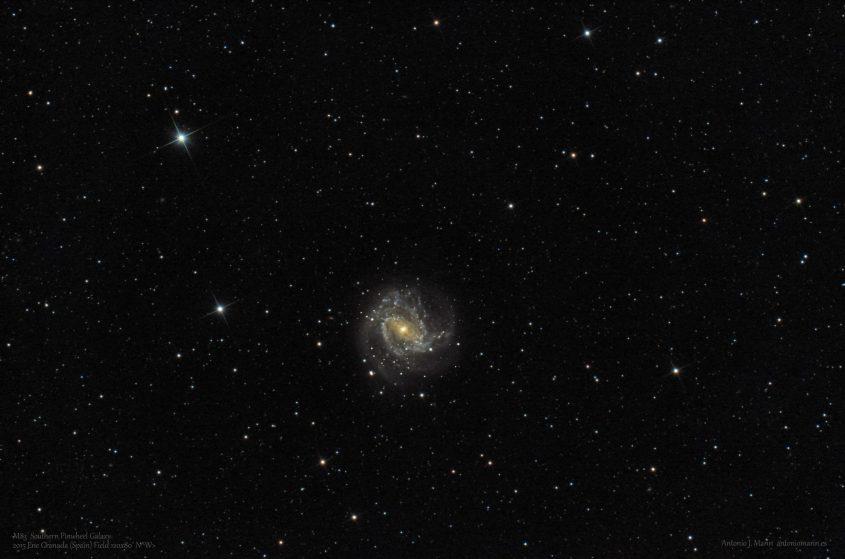 M83 Galaxia Molinillo del Sur FW